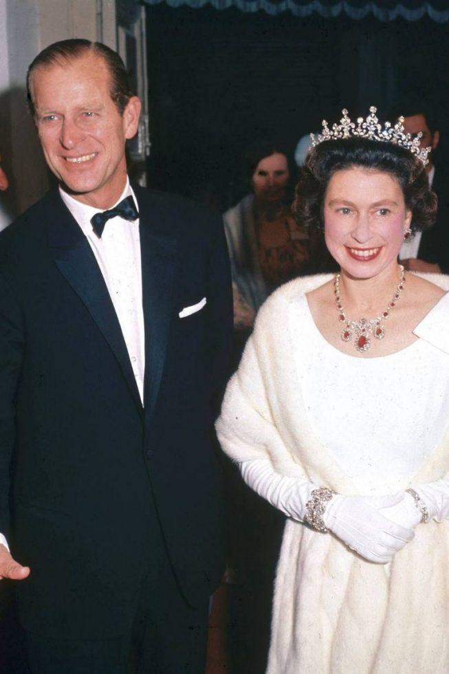 reina Elizabeth II y el duque de Edimburgo 2