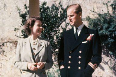 reina elizabeth II y el duque de Edimburgo