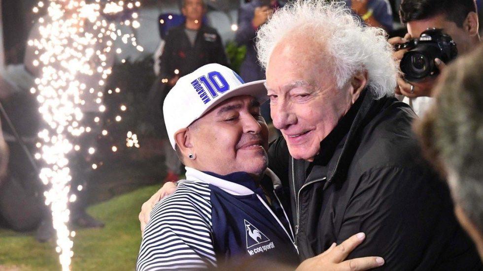 Diego Maradona y Guilermo Coppola