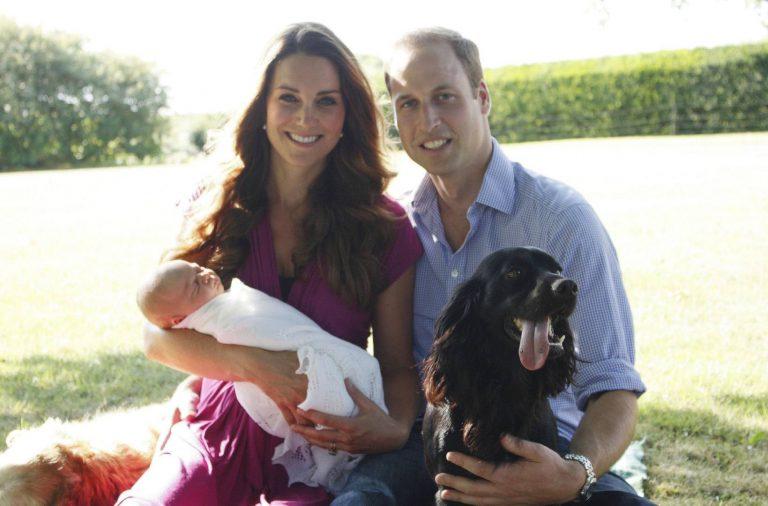 El príncipe William y Kate Middleton Lupo (1)