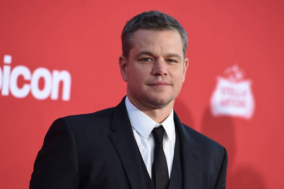 matt damon 2007