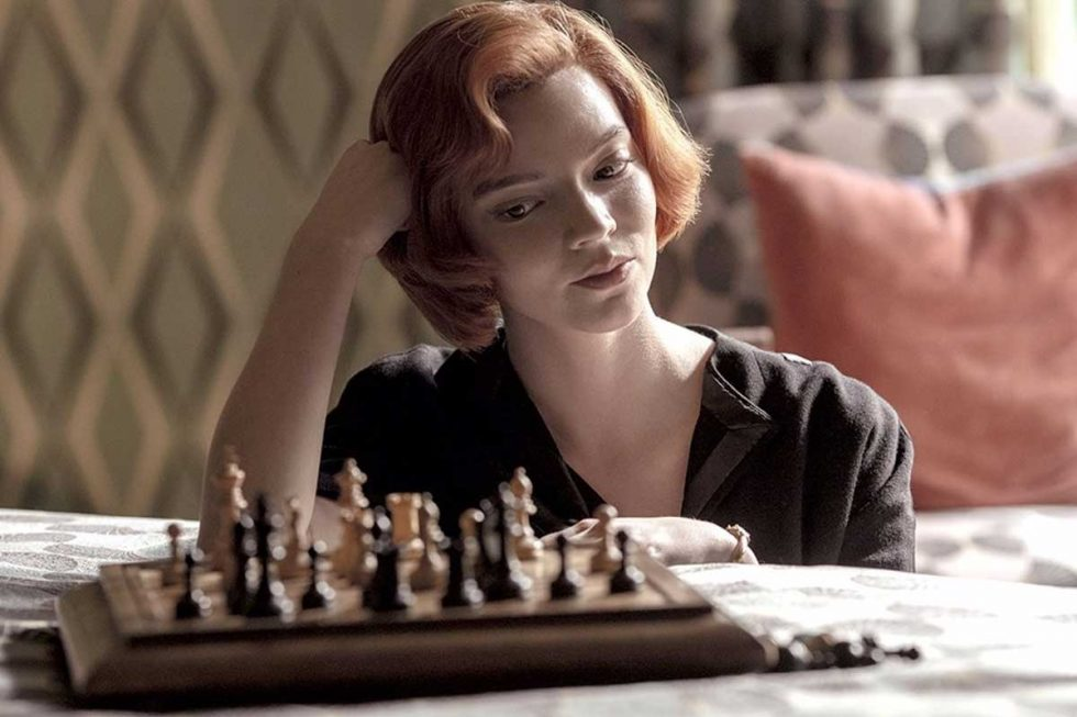 Gambito de dama netflix Anya Taylor-Joy 3