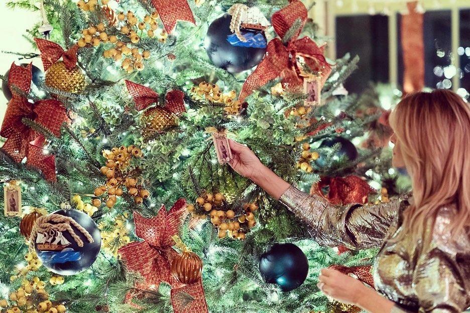 Melania Trump decorado navideño Casa Blanca 5