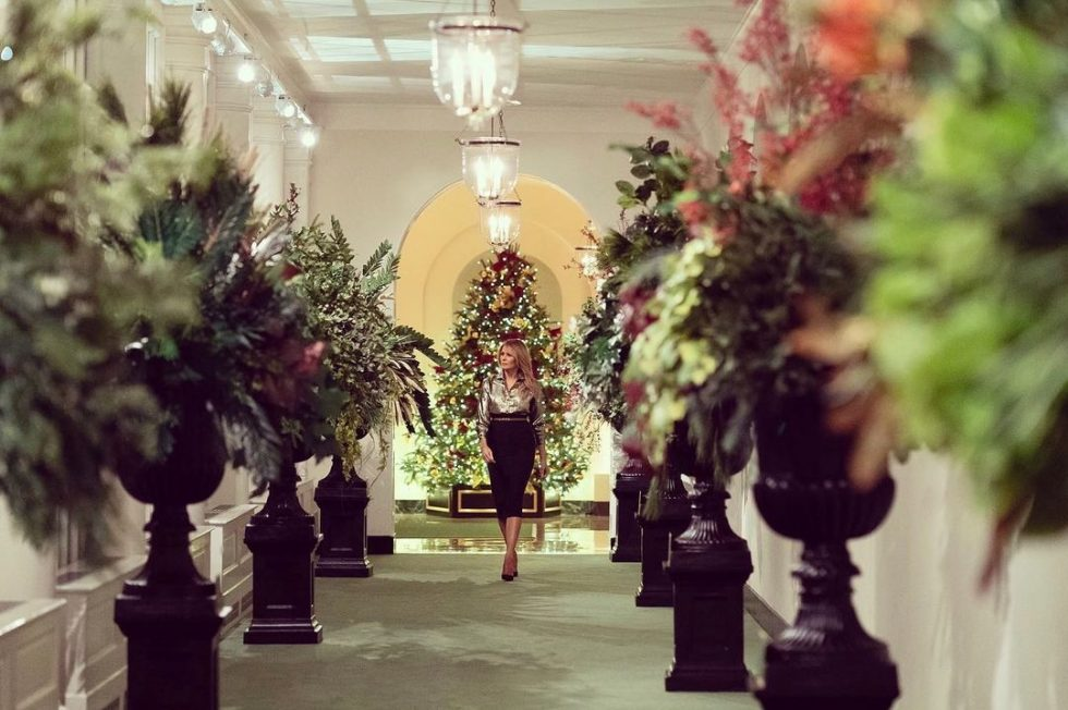 Melania Trump decorado navideño Casa Blanca 7