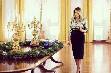 Melania Trump decorado navideno Casa Blanca 3 (1)