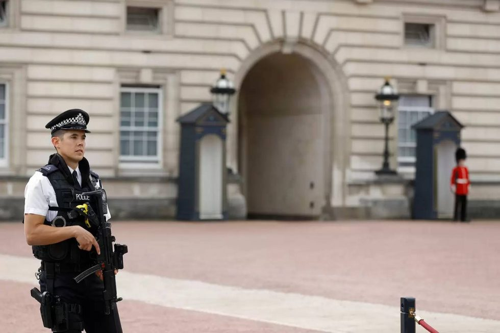 Palacio de Buckingham sirviente de la reina 1