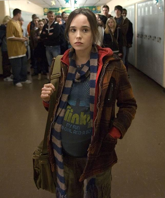 Ellen Page Elliot Page Juno transgénero 2