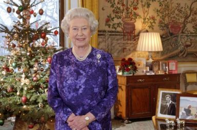 reina Elizabeth II Navidad Windsor