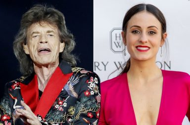 Melanie_Hamrick y Mick Jagger