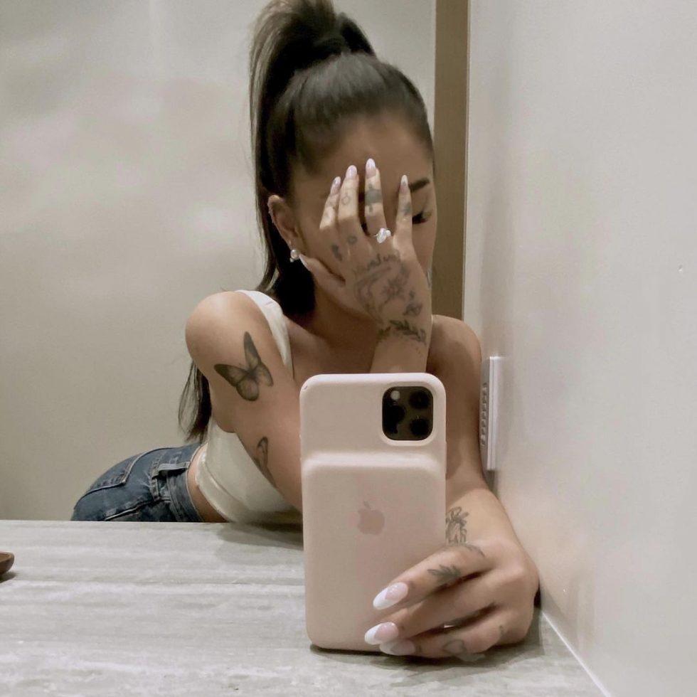 Ariana Grande Anillo de compromiso