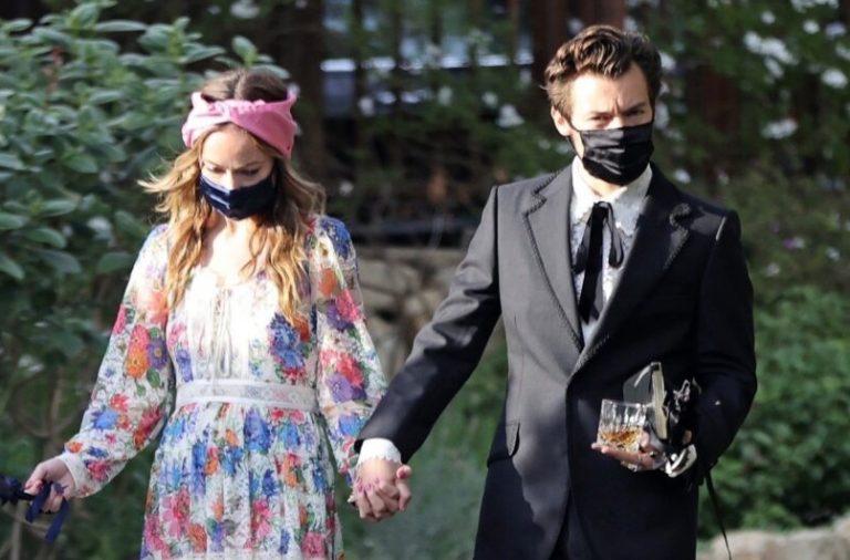 Harry y Olivia Wilde