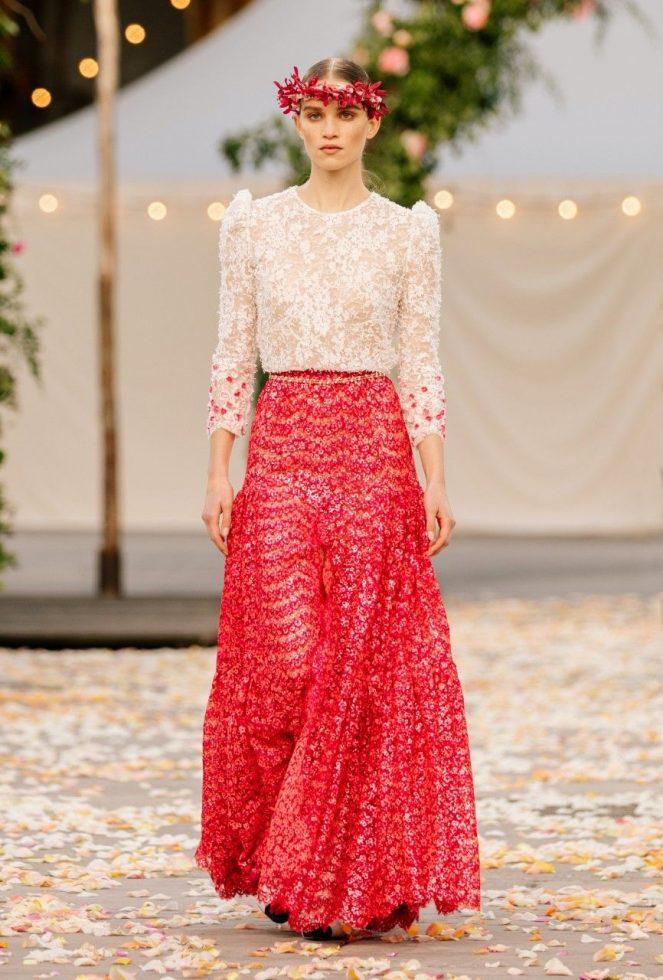 Look 3 colección Chanel primavera-verano 2021