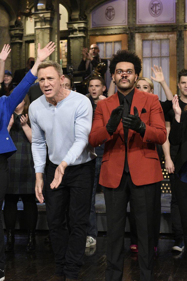 Abel en Saturday Night Live
