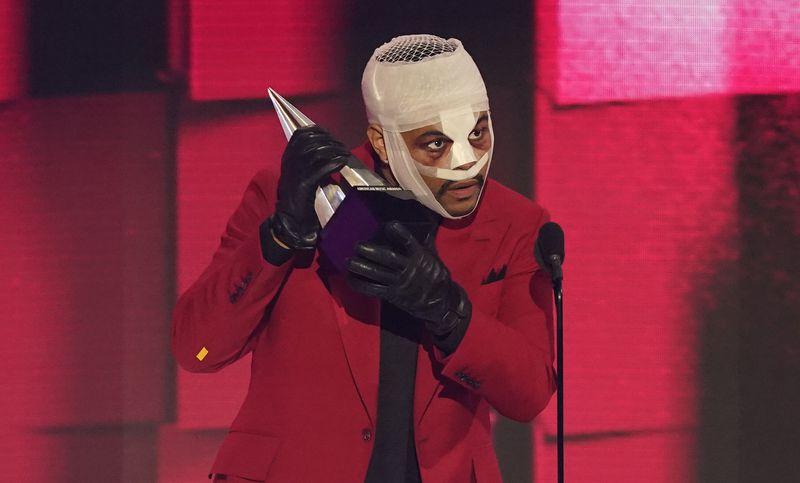 Abel en los American Music Awards