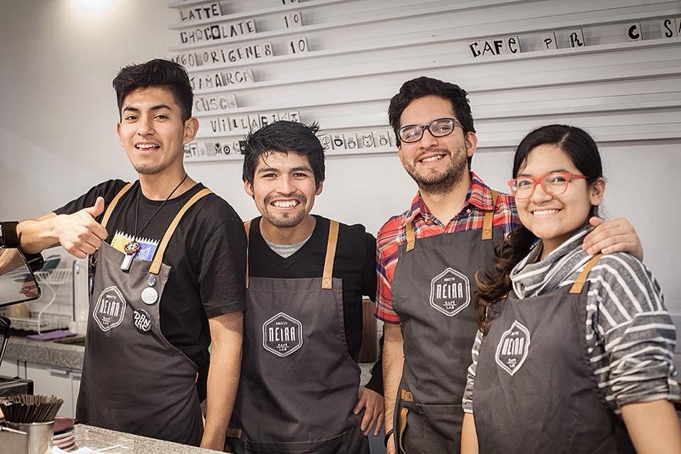 El equipo de Neira Café Lab