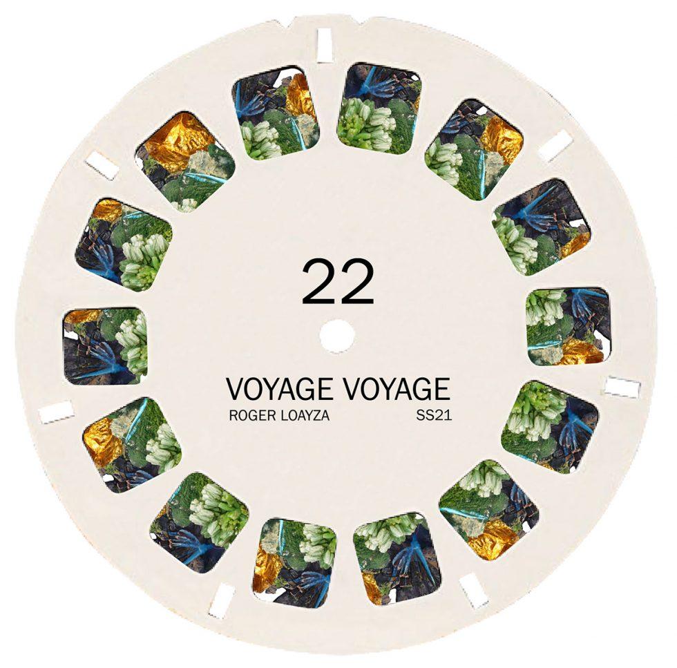 Estampado para colección SS21 Roger Loayza