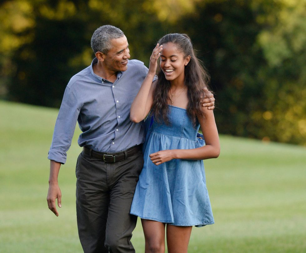 Malia y Barack Obama (1)