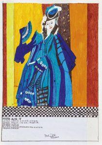 """""""Untitled (Acqua Alta V)"""" (2019). Otra de las piezas que formaron parte de la aplaudida muestra de Burga en Nueva York."""