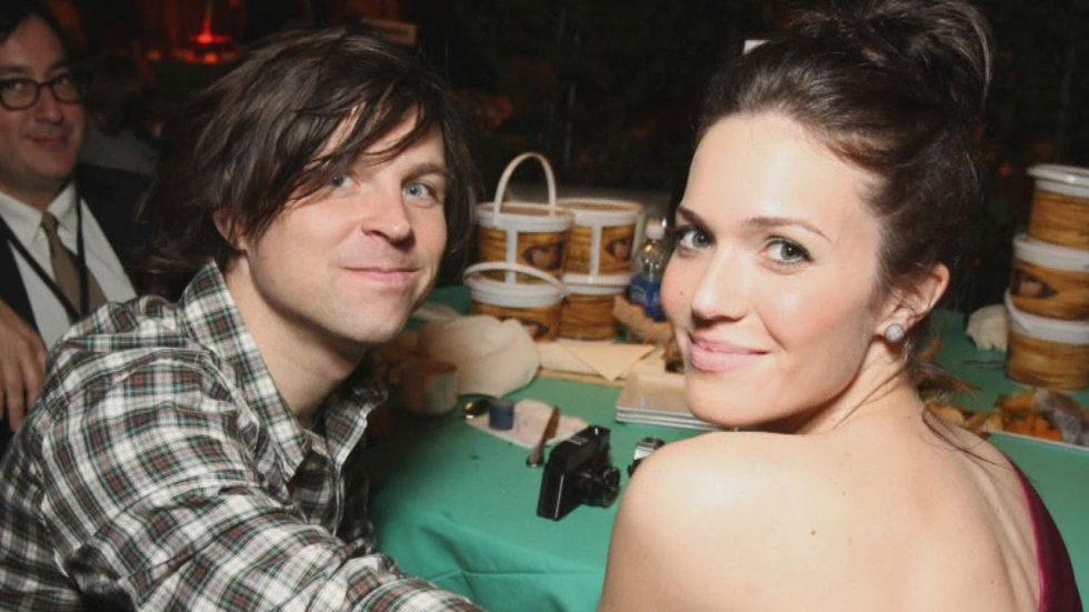 Mandy Moore y su ex esposo Ryan Adams