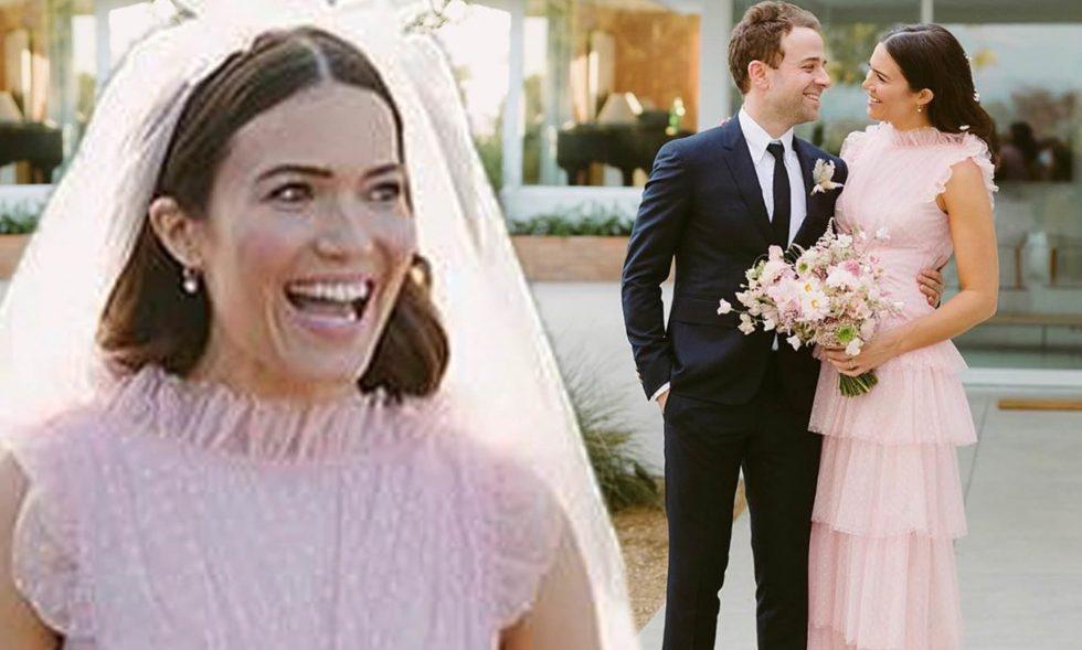El matrimonio de Mandy Moore y Taylor Goldsmith