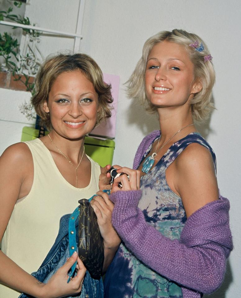 Nicole Richie y Paris Hilton
