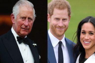 Carlos de Gales, príncipe Harry, Meghan Markle