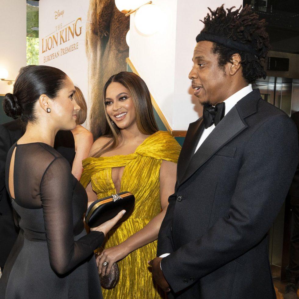 Meghan y Beyoncé