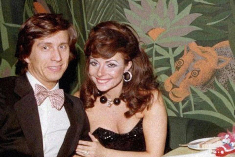 Maurizio Gucci y su ex-esposa Patrizia Reggiani