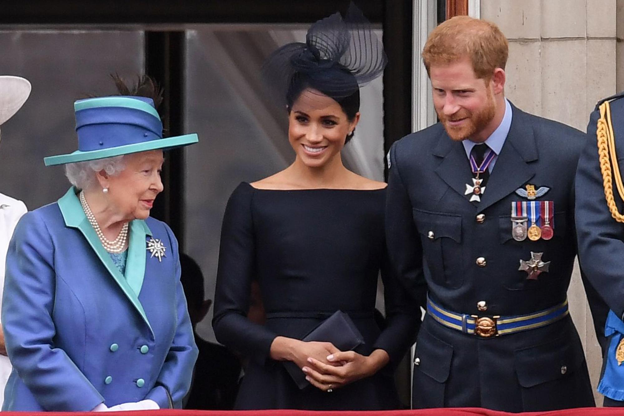 Meghan Markle y Elizabeth II