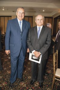 Allan Wagner y Pedro Cateriano.
