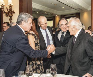 Emilio Rodríguez Larraín, Roque Benavides, Antonio Bedoya de Vivanco y Luis Bedoya.