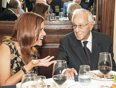 Mercedes Aráoz, vicepresidenta de la República del Perú; y Luis Bedoya Reyes.