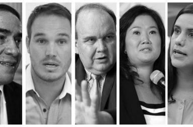 Cinco candidatos luchan por un lugar en la segunda vuelta.