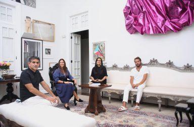 Max Hernandez, Denise Dourojeanni, Giuliana Vidarte y Gerardo Chavez.
