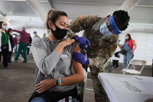 EStados Unidos Vacuna