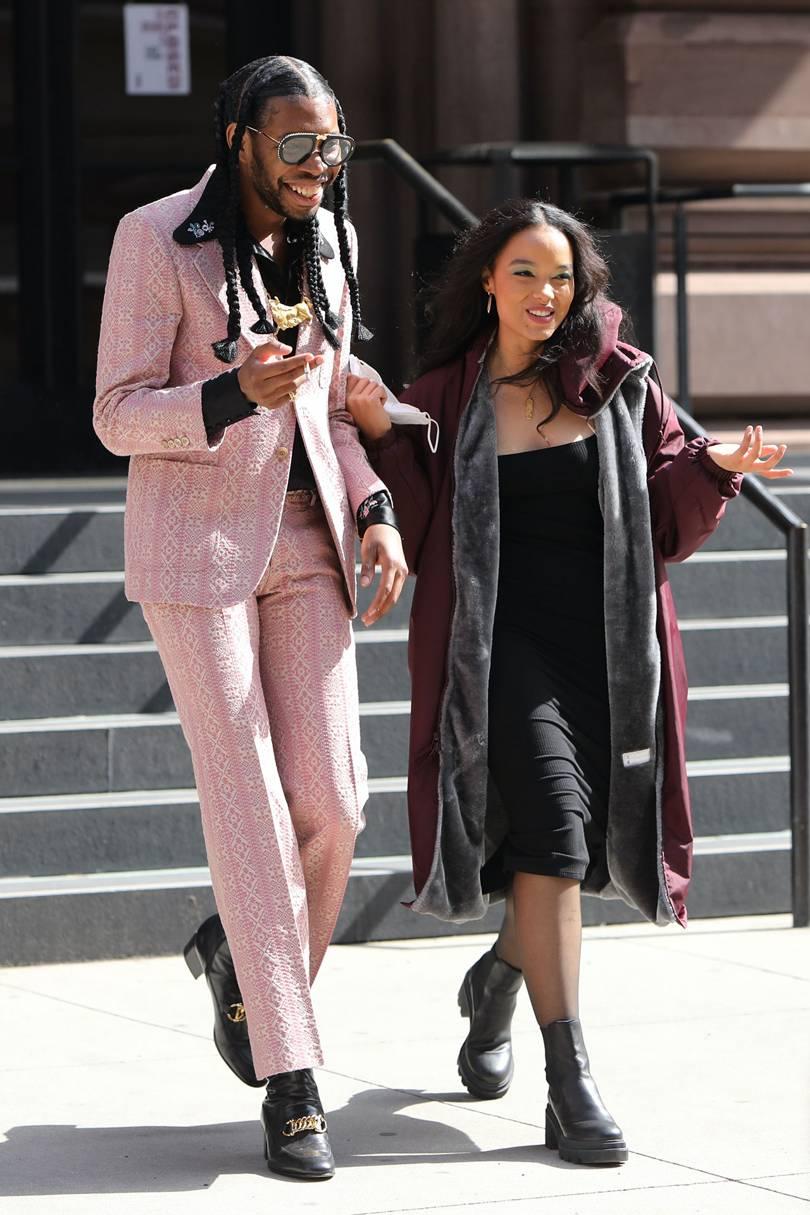 Gossip Girl reboot Jeremy O. Harris y Whitney Peak