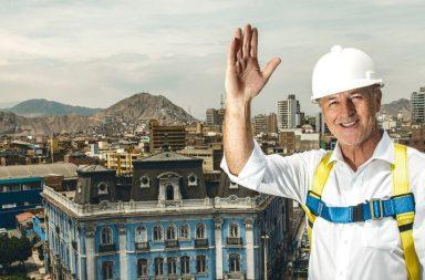 Jorge Muñoz alcalde de Lima