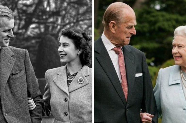 Duque de Edimburgo y Elizabeth II