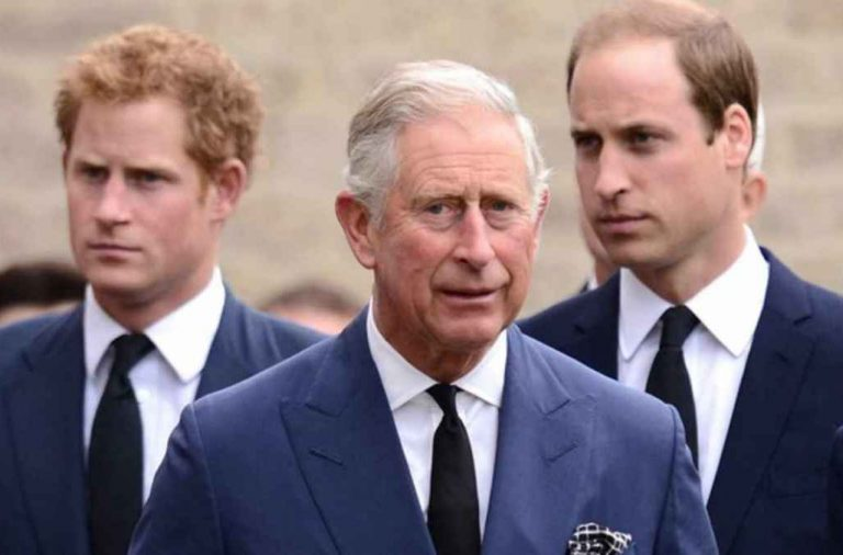 Harry, William y Charles