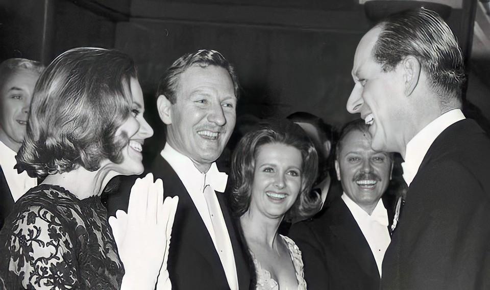 Prince Philip and James Bond