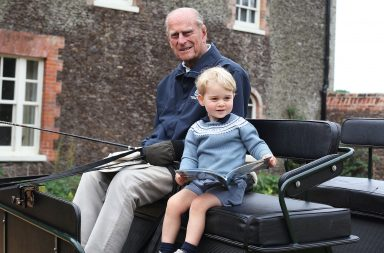Principe Phillip y Principe George, 2015