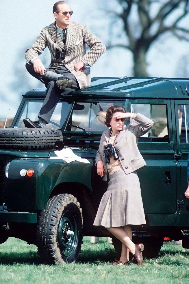 Philip y Elizabeth II