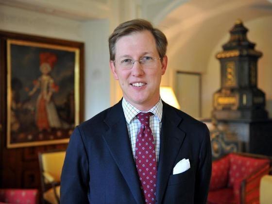 El príncipe Bernhard de Baden.