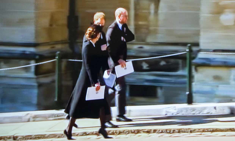 Harry, William y Kate