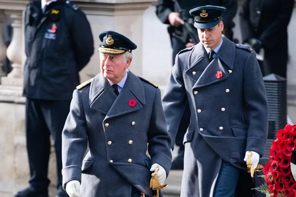 Príncipe Charles y Príncipe William
