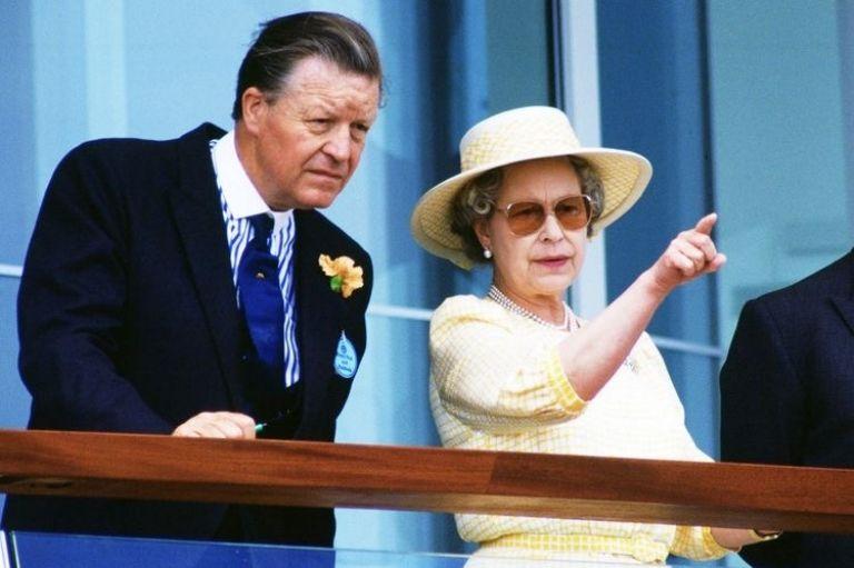 Sir Michael Oswald y ELizabeth