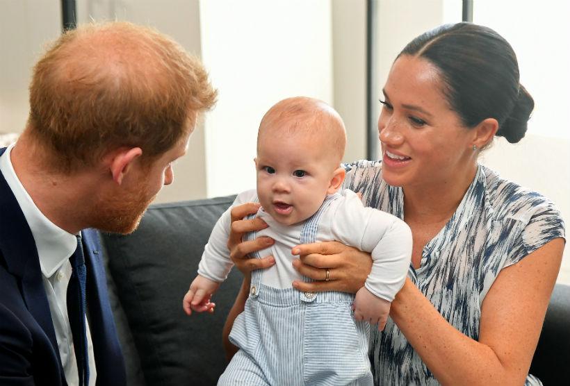 Los Duques de Sussex y su hijo Archie
