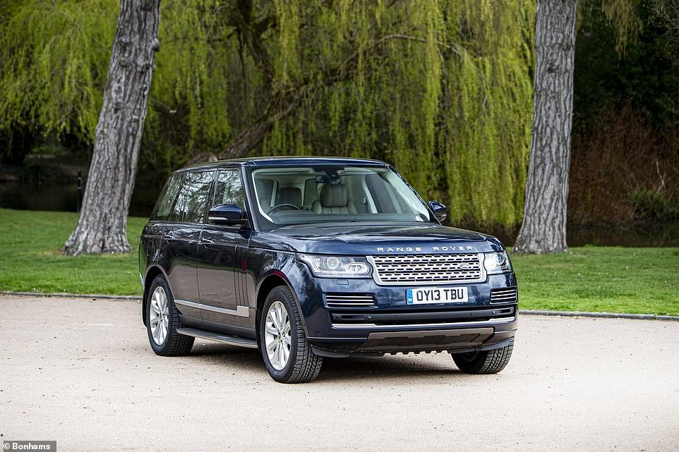 Range Rover Kate y William