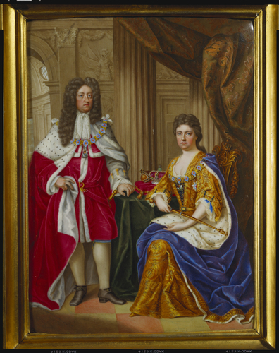 queen anne and george of denmark