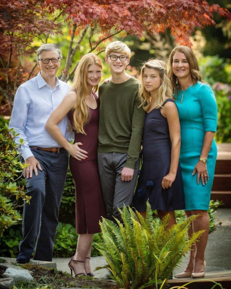 GATES'S FAMILY